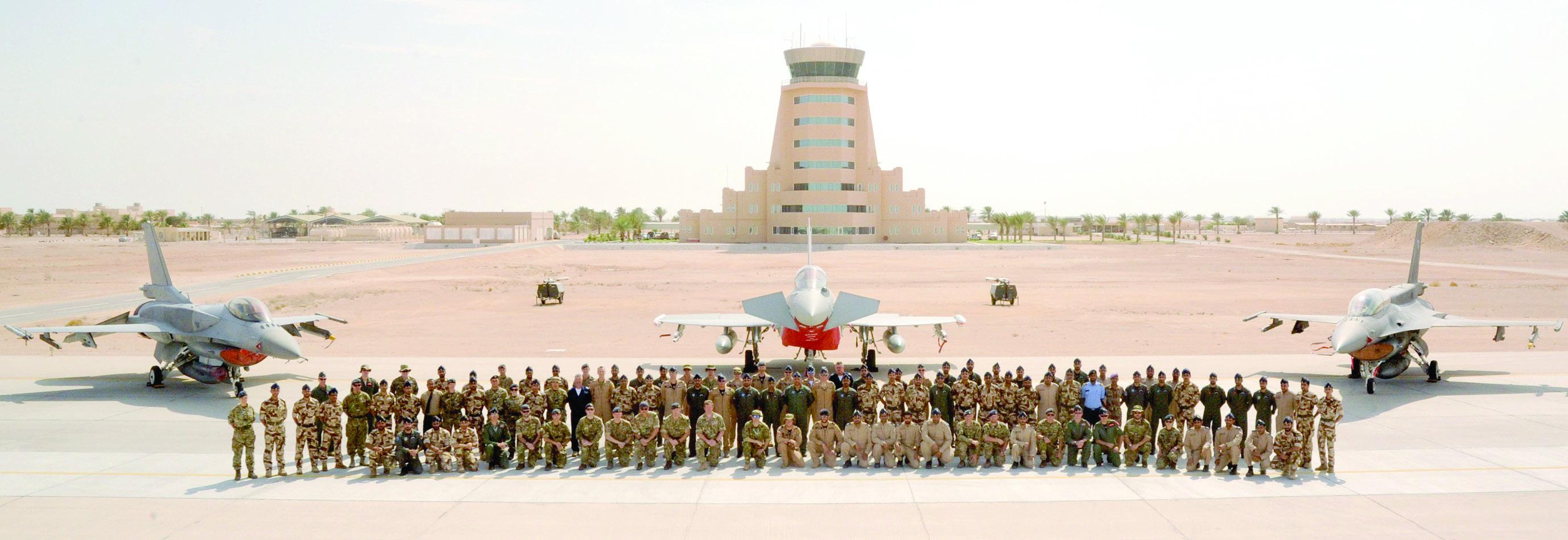 تمرين عسكري عماني مع بريطانيا وأمريكا