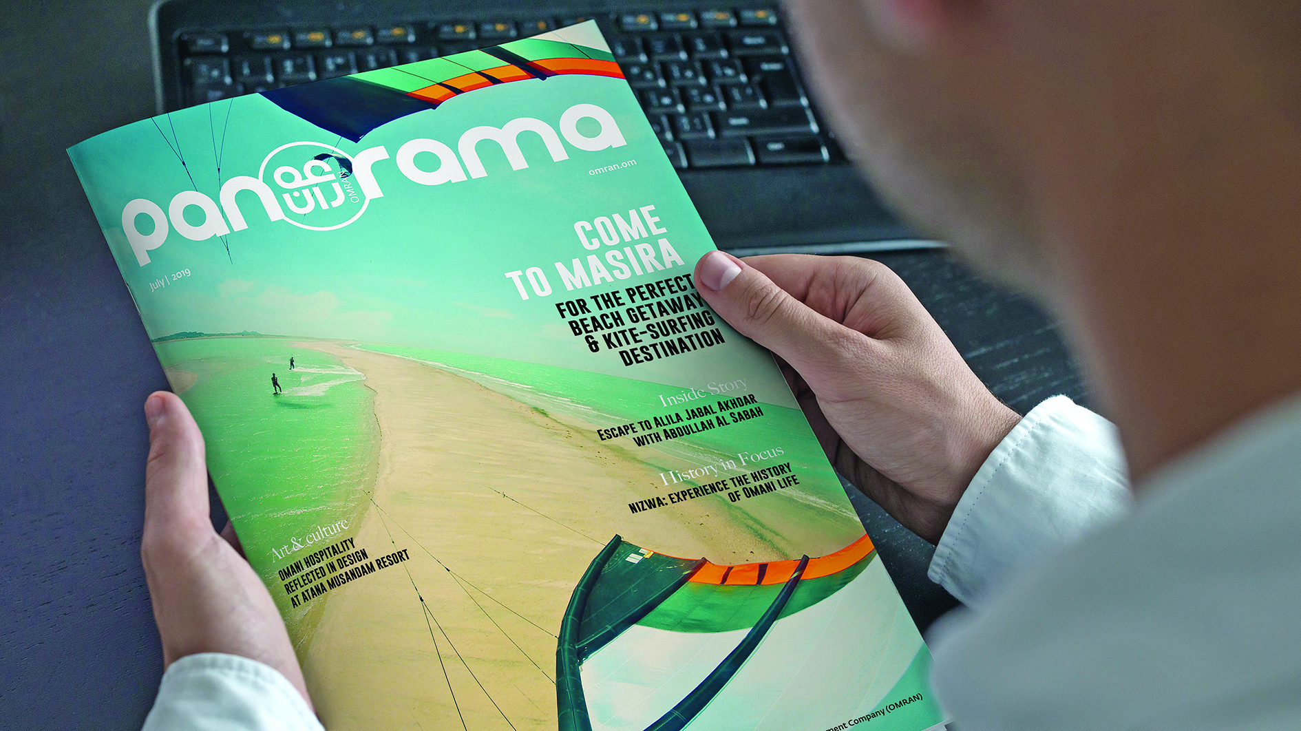 Omran launches its new corporate publication