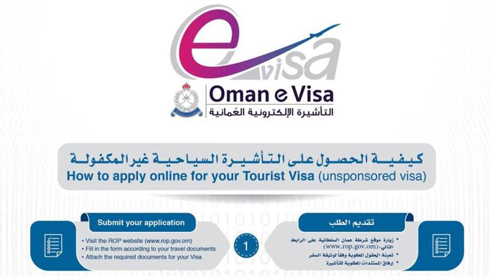 Nationwide Royal Oman Police e-visa campaign