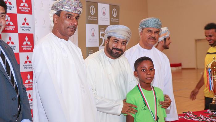 Mitsubishi Oman Handball School tournament begins
