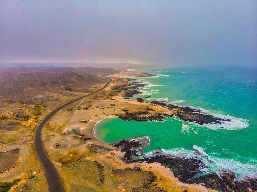 This island in Oman has a interesting history and beautiful views