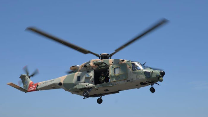 Patient airlifted by Royal Air Force of Oman chopper