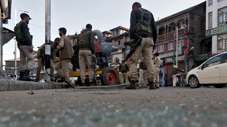 """تبادل لإطلاق النار بين الأمن الهندي ومسلحين في """"كشمير"""""""