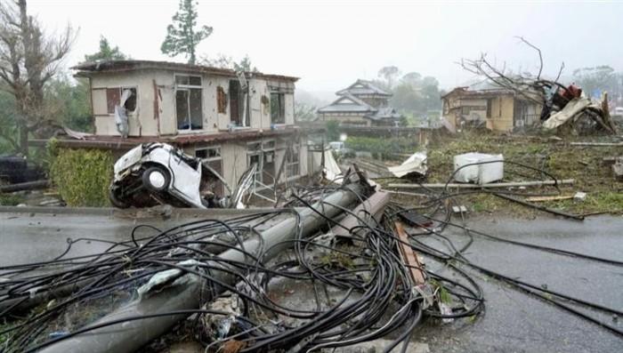 """اليابان.. تخصيص 6.5 مليون دولار للتعامل مع آثار الإعصار """"هاجيبيس"""""""
