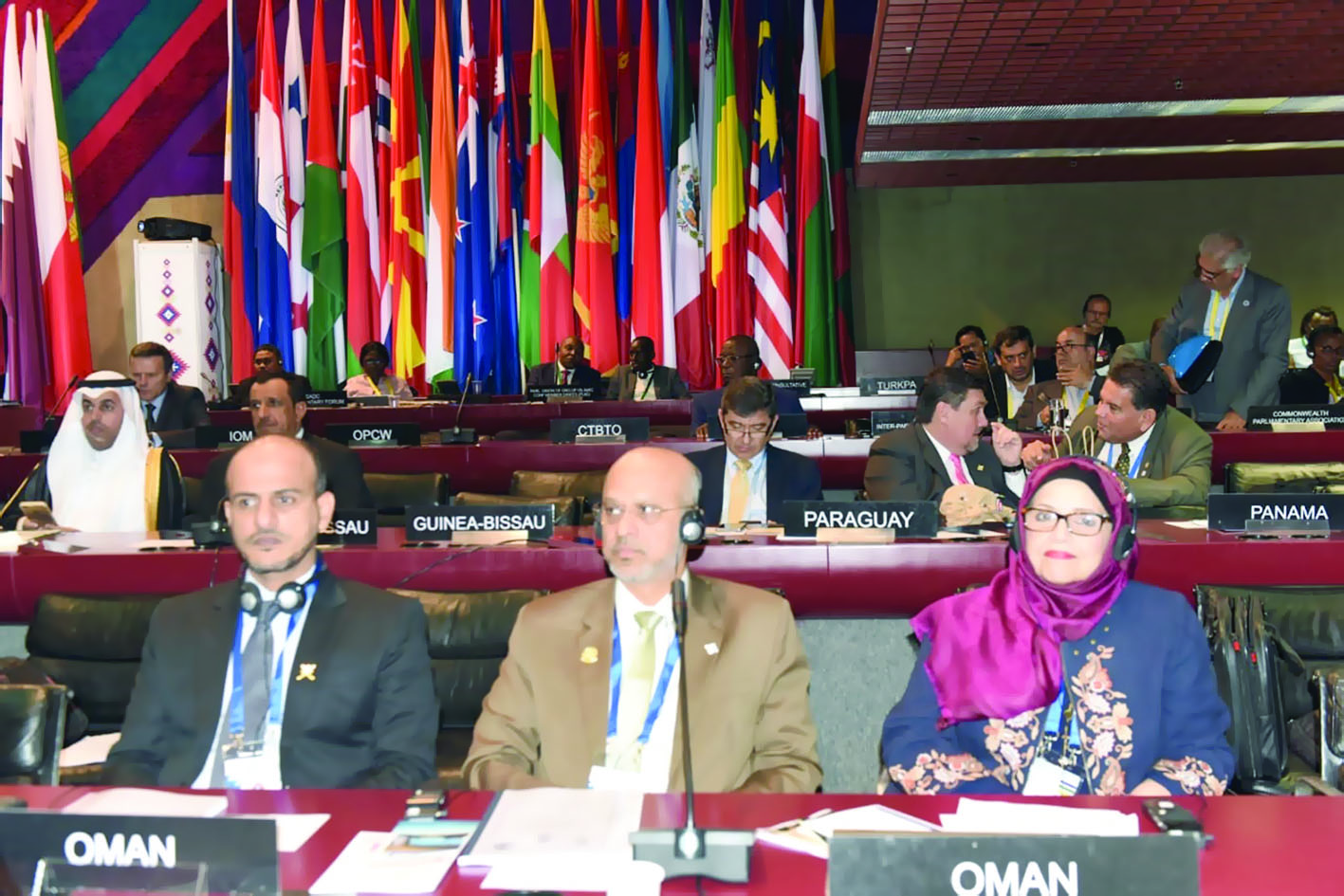 """""""مجلس عمان"""" يشارك في جمعية الاتحاد البرلماني الدولي"""