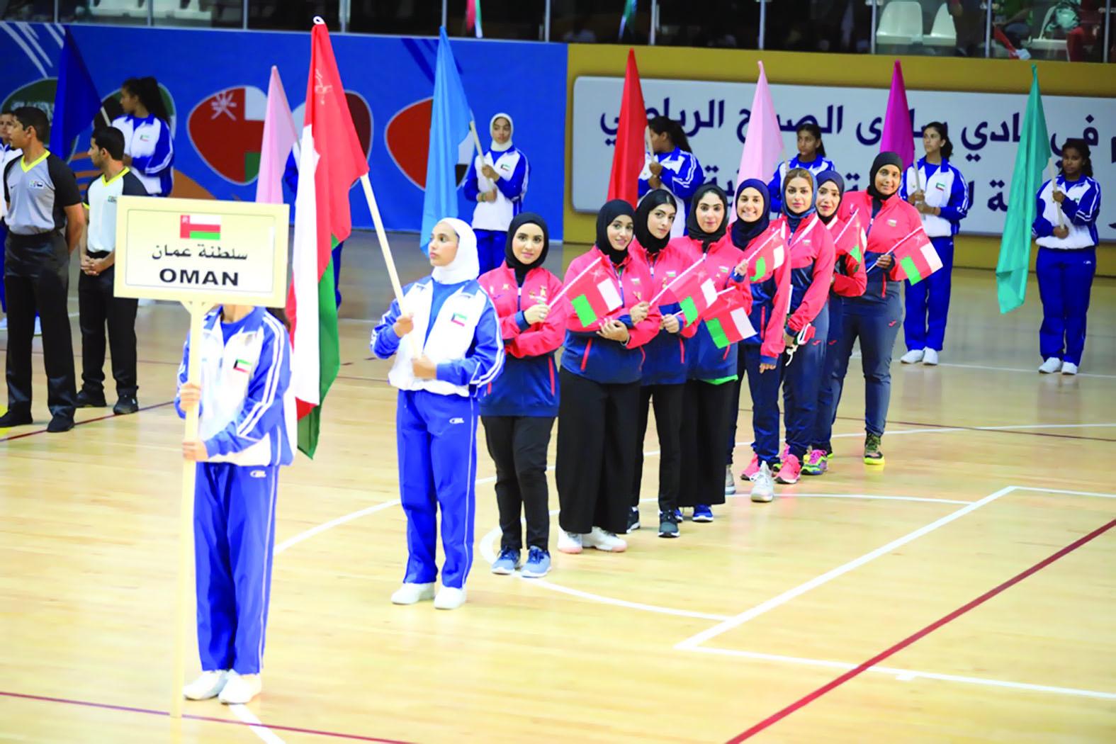 افتتاح مبسط للدورة السادسة لرياضة المرأة بالكويت