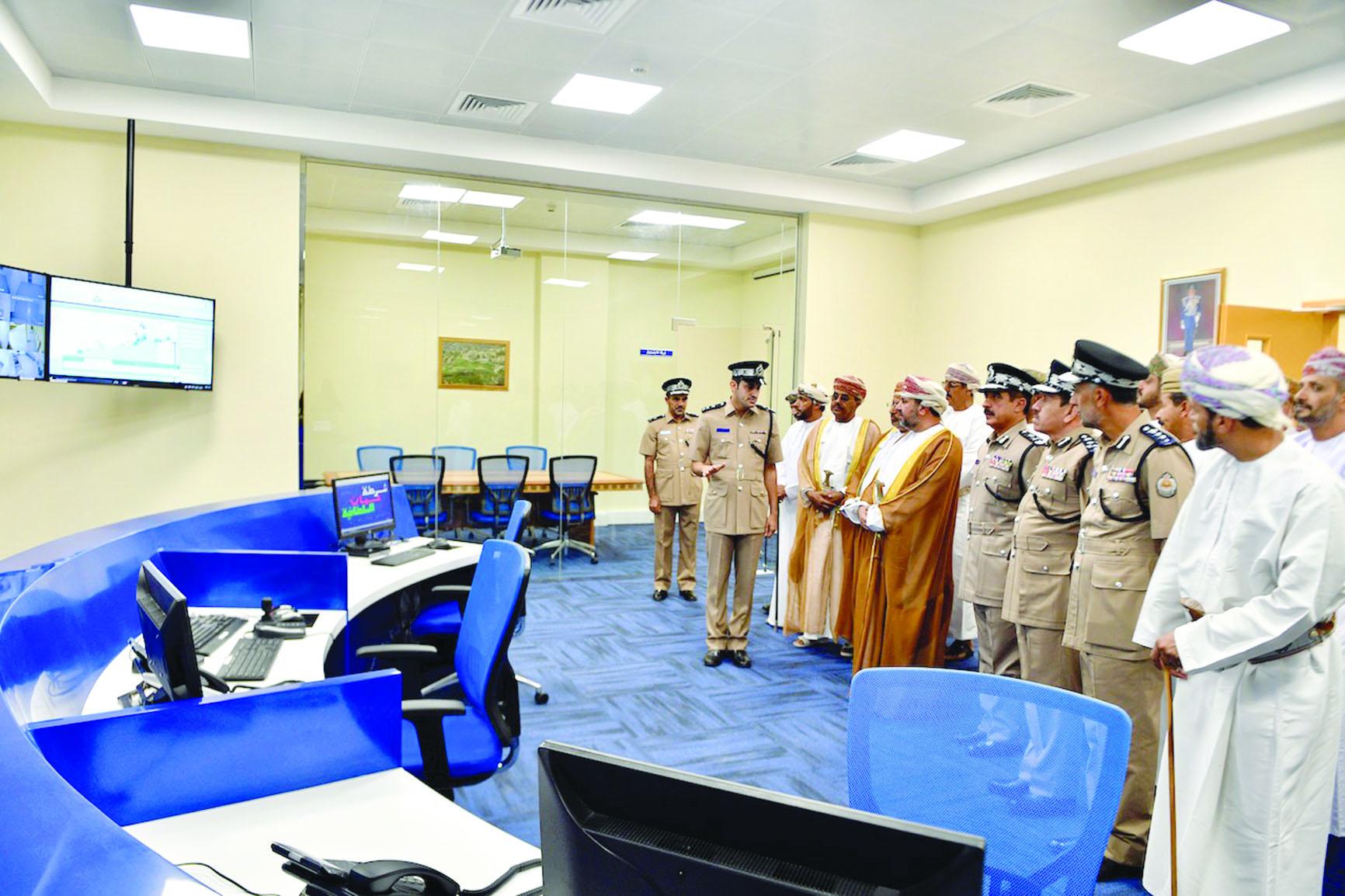 """افتتاح مركز شرطة """"شهب أصعيب"""" ومبنى الخدمات"""