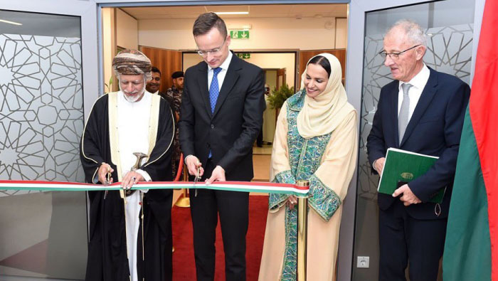 Hungary embassy opens in Muscat
