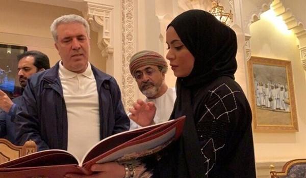 """وزير السياحة الإيرانى يزور """"قصر العلم"""" و """"المتحف الوطني"""" بمسقط"""