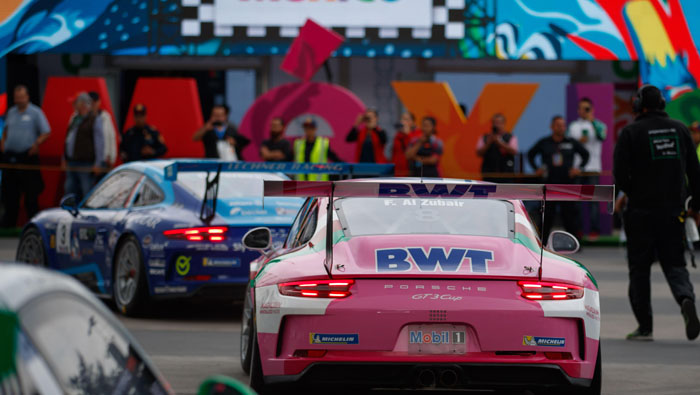 Al Zubair finishes 11th in first of two Mobil 1 Super Cup in Mexico