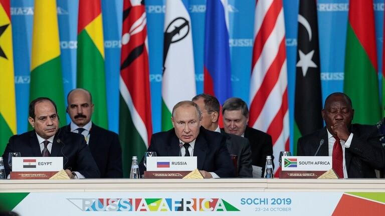 خبير  روسي : تدخل روسيا في افريقيا يخيف الغرب و الصين
