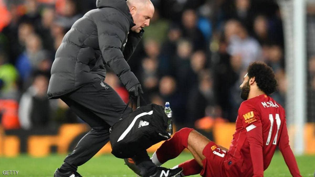 """مدرب """"ليفربول"""" يكشف طبيعة إصابة """"محمد صلاح"""""""