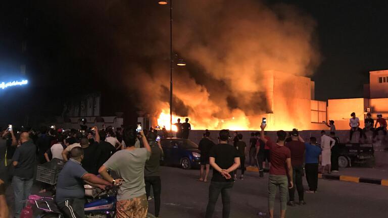 مقتل 7 محتجين وشرطي خلال احتجاجات العراق