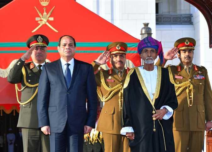 جلالة السلطان يهنئ الرئيس السيسي بمناسبة ذكرى انتصارات أكتوبر
