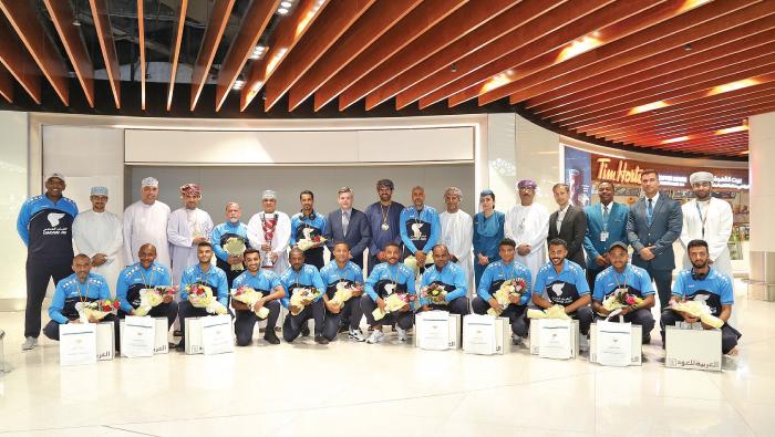 Oman Air's team captures Aviation Football Cup 2019