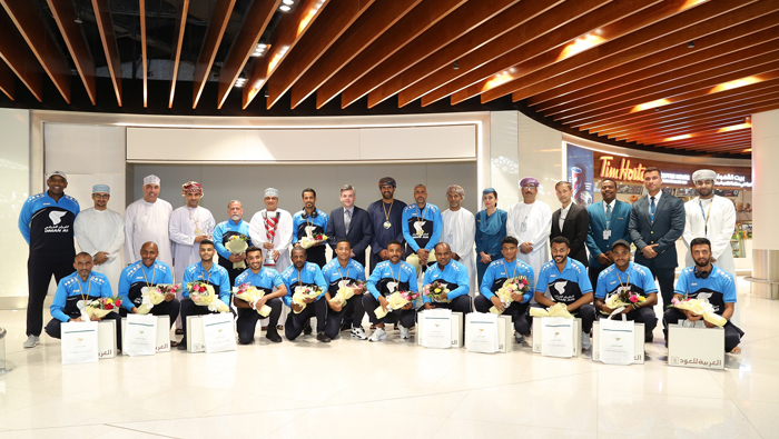 Oman Air scores as football team takes international title