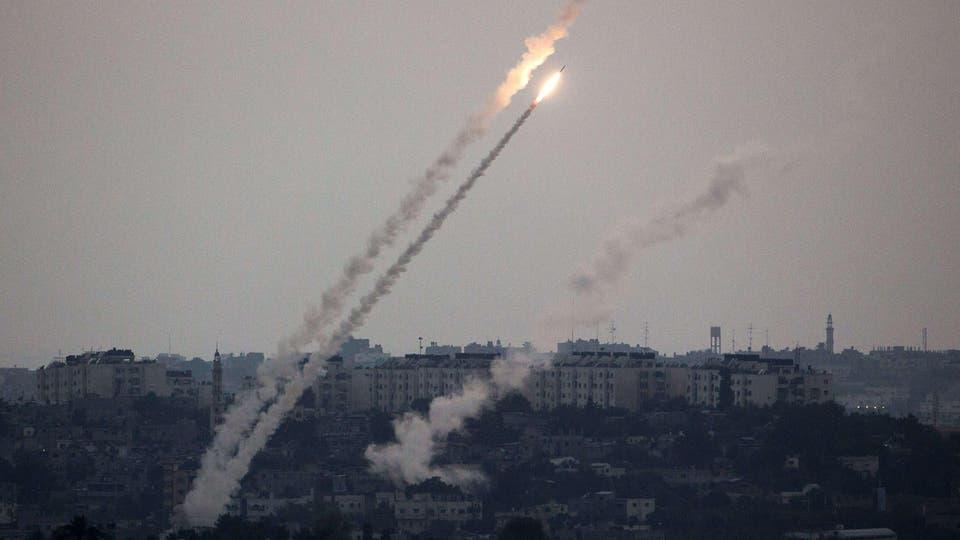 إطلاق صواريخ من غزة على إسرائيل بعد اغتيال قيادي حركة الجهاد