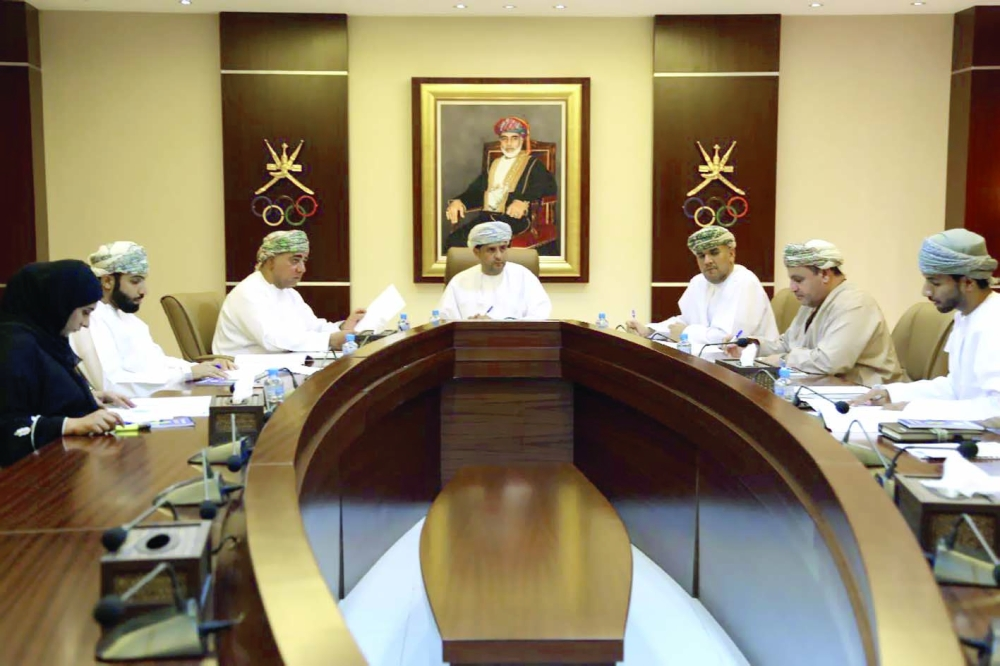 الخميس ..اللجنة العمانية للتضامن الأولمبي تعقد اجتماعها