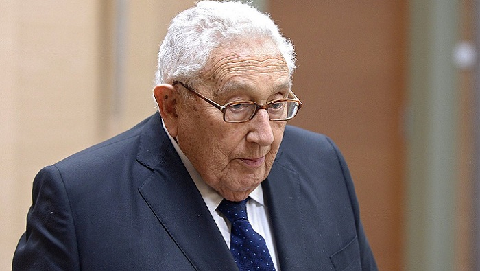 U.S., China should manage disagreements for world's future: Kissinger