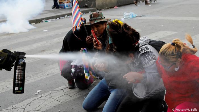 Five killed in pro-Morales protests