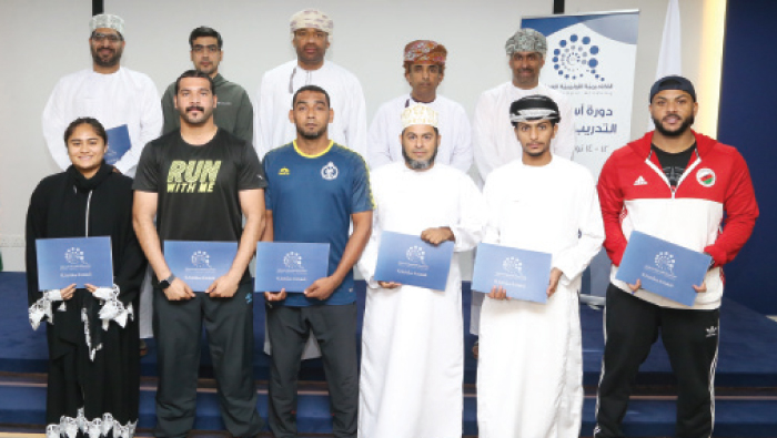Oman Olympic Academy winds up basic sports training course