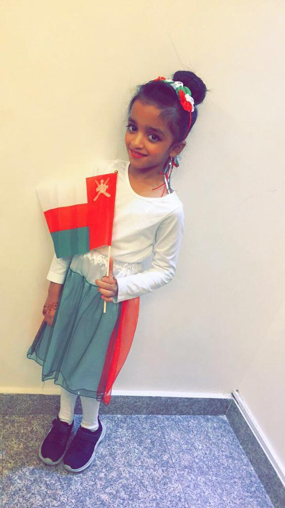 In Pictures: Children in Oman celebrates 49th National Day