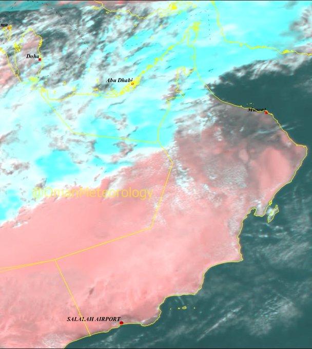 الأرصاد : هطول أمطار متوسطة على أجزاء من المحافظات الشمالية