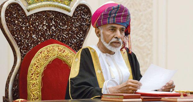 جلالة السلطان يتلقى برقية شكر من الرئيس الأفغاني