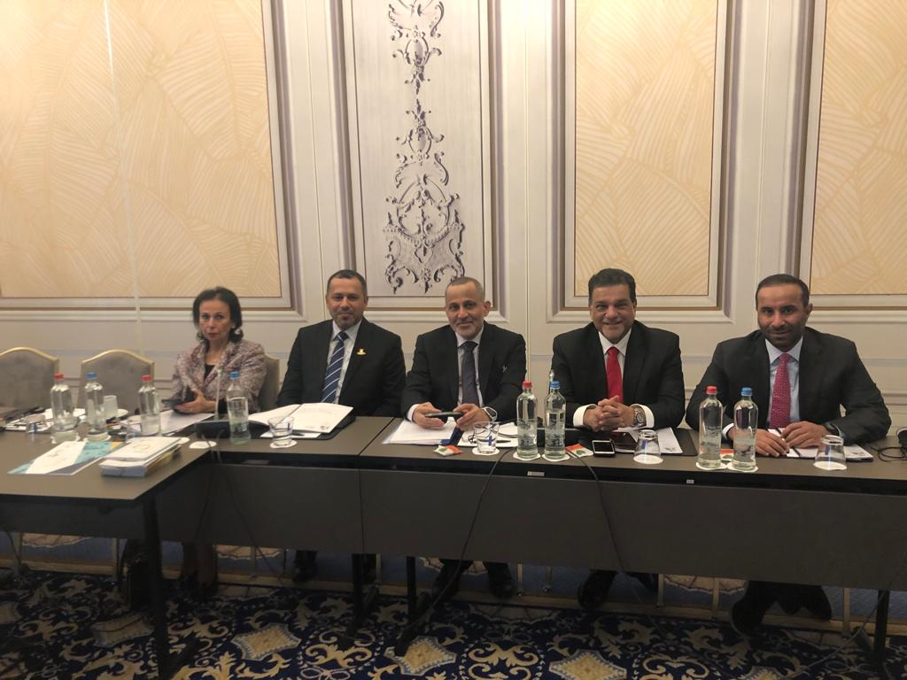 """""""الغرفة"""" تشارك باجتماعات مجلس إدارة الغرفة العربية البلجيكية اللكسمبورجية"""