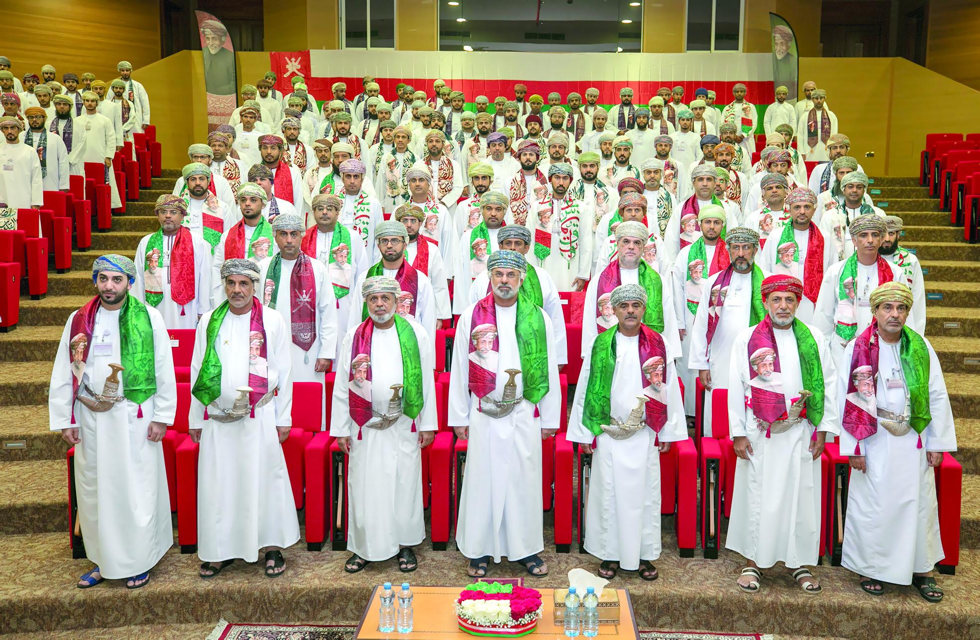 جهاز الرقابة المالية والإدارية للدولة يحتفل بمناسبة العيد الوطني
