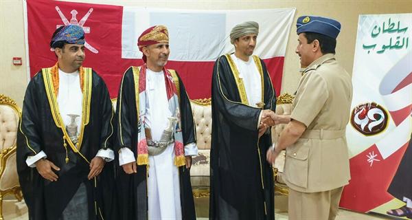 محافظ مسندم يقيم حفل استقبال بمناسبة العيد الوطني