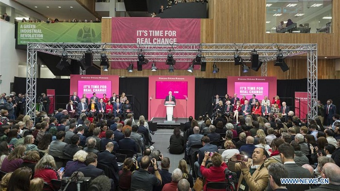 UK's Labour Party launches election manifesto