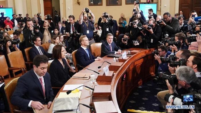 Two more witnesses testify publicly in Trump impeachment inquiry