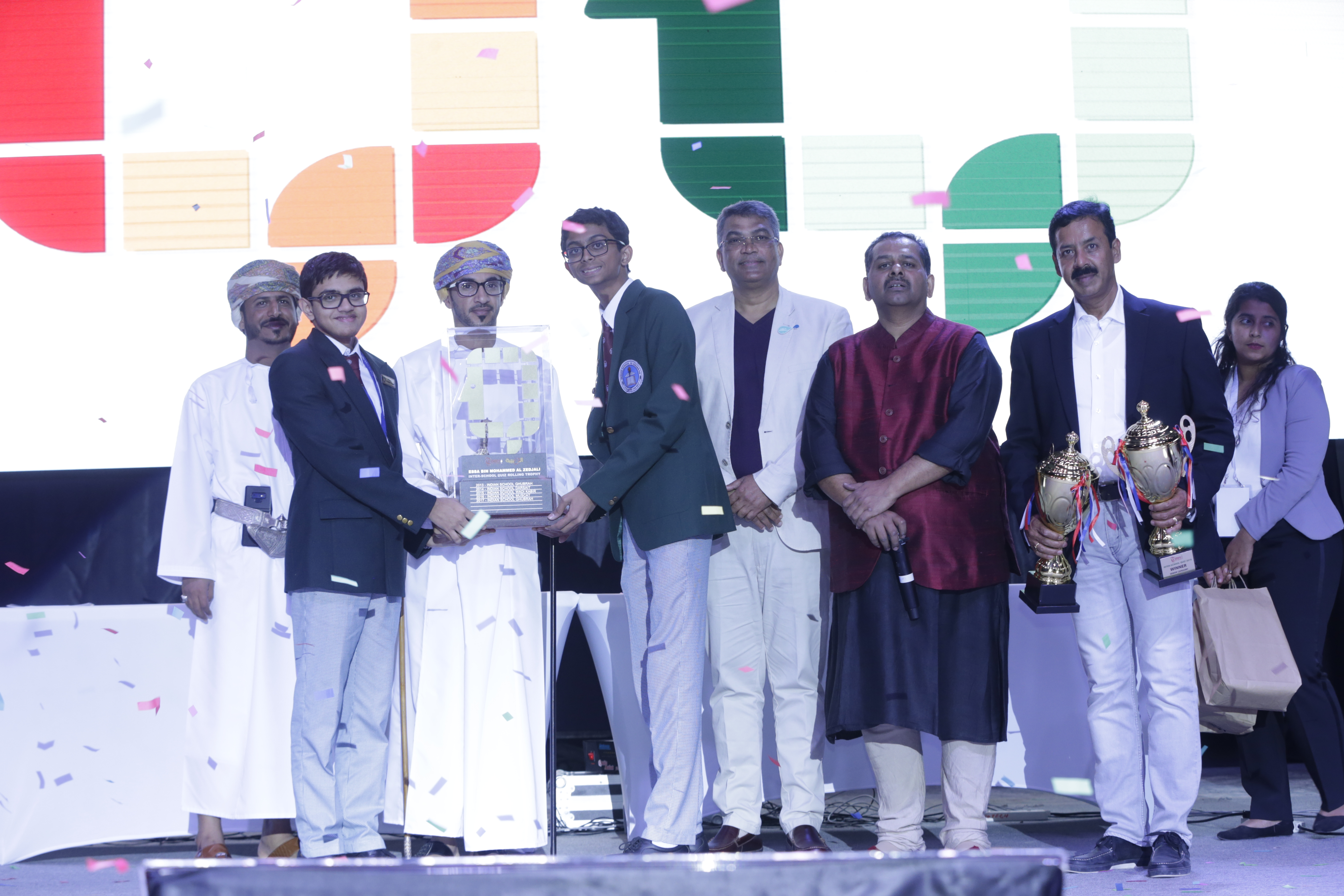 Double delight for Indian School Al Ghubra at Times of Oman quiz