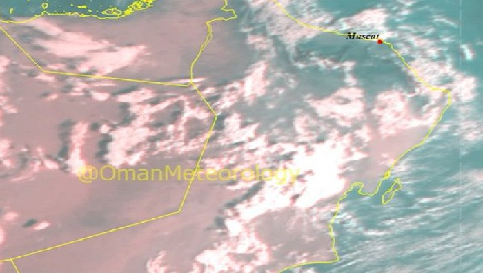 Chances of isolated rain over parts of Oman