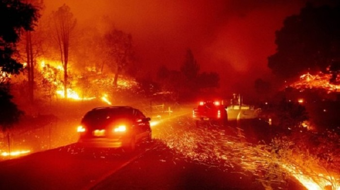 Experts say climate change fueling California wildfires