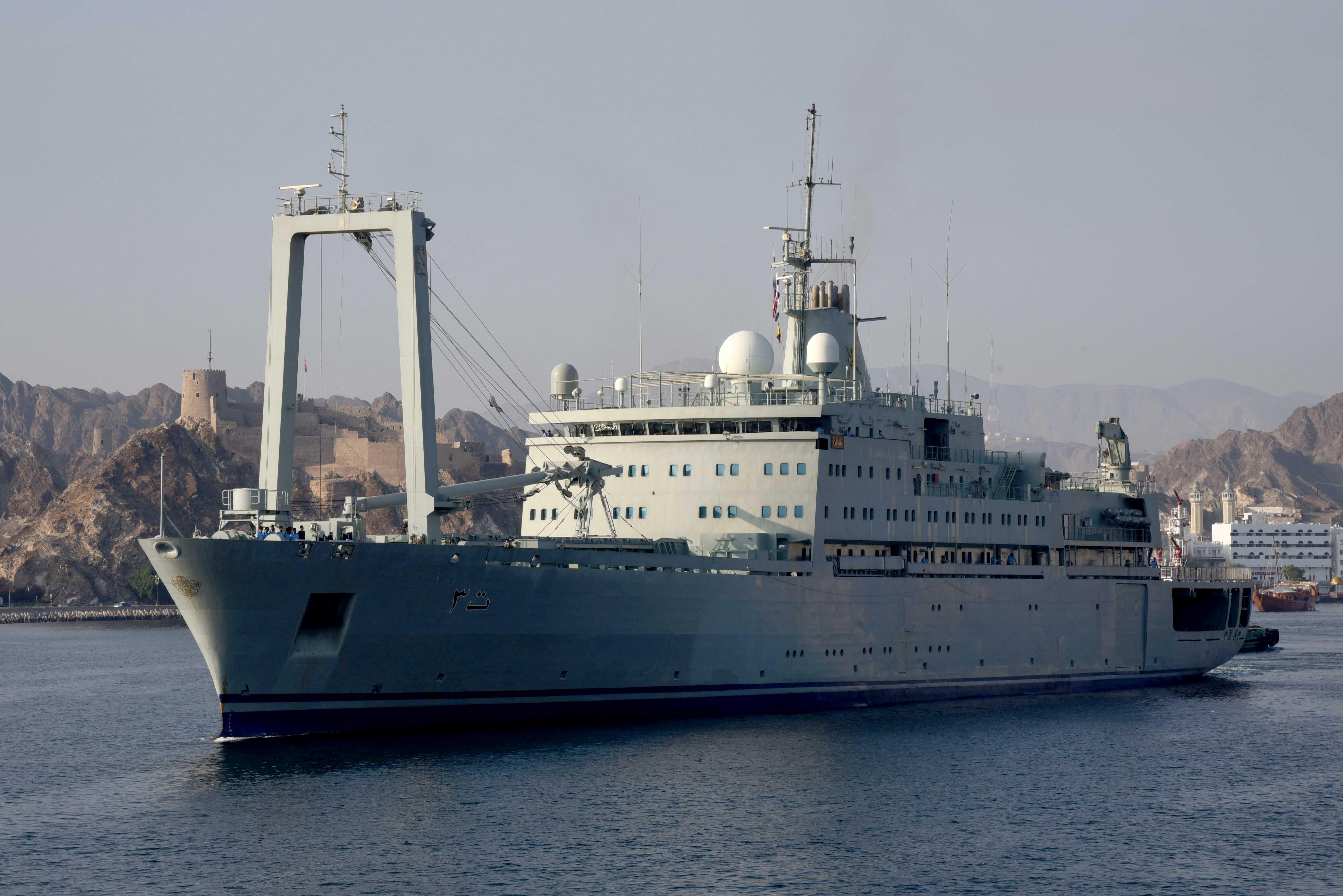 البحرية السلطانية العمانية تشارك في التمرين البحري الدولي لعام 2019