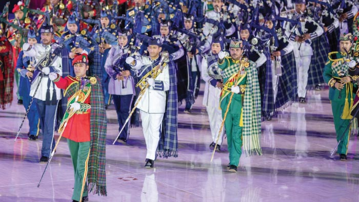 Military concert marks 49th National Day celebration
