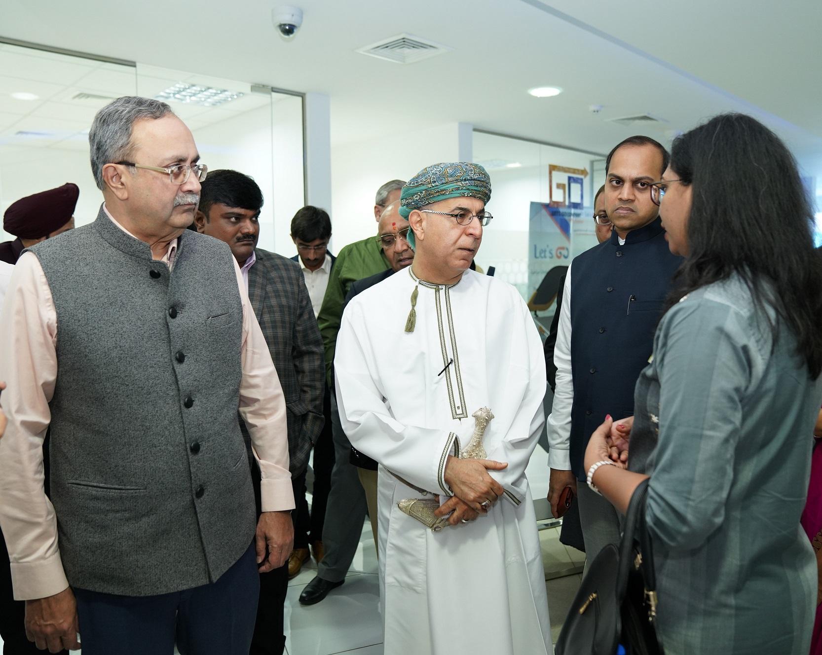 """وفد تجاري هندي رفيع المستوى يطلع على الفرص الاستثمارية في """"مدائن"""""""
