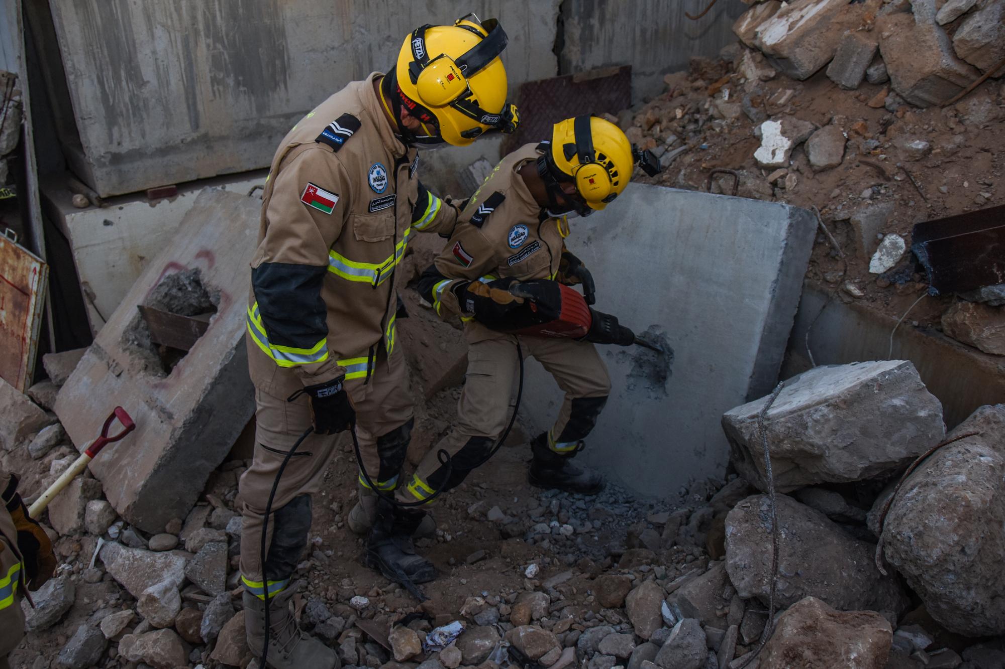 لمدة 36 ساعة.. الفريق الوطني للبحث والإنقاذ ينفذ تمريناً عملياً