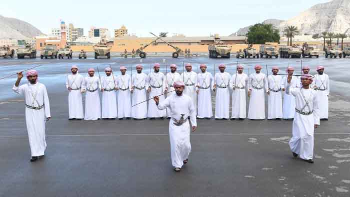 Musandam Sector Command marks Armed Forces Day