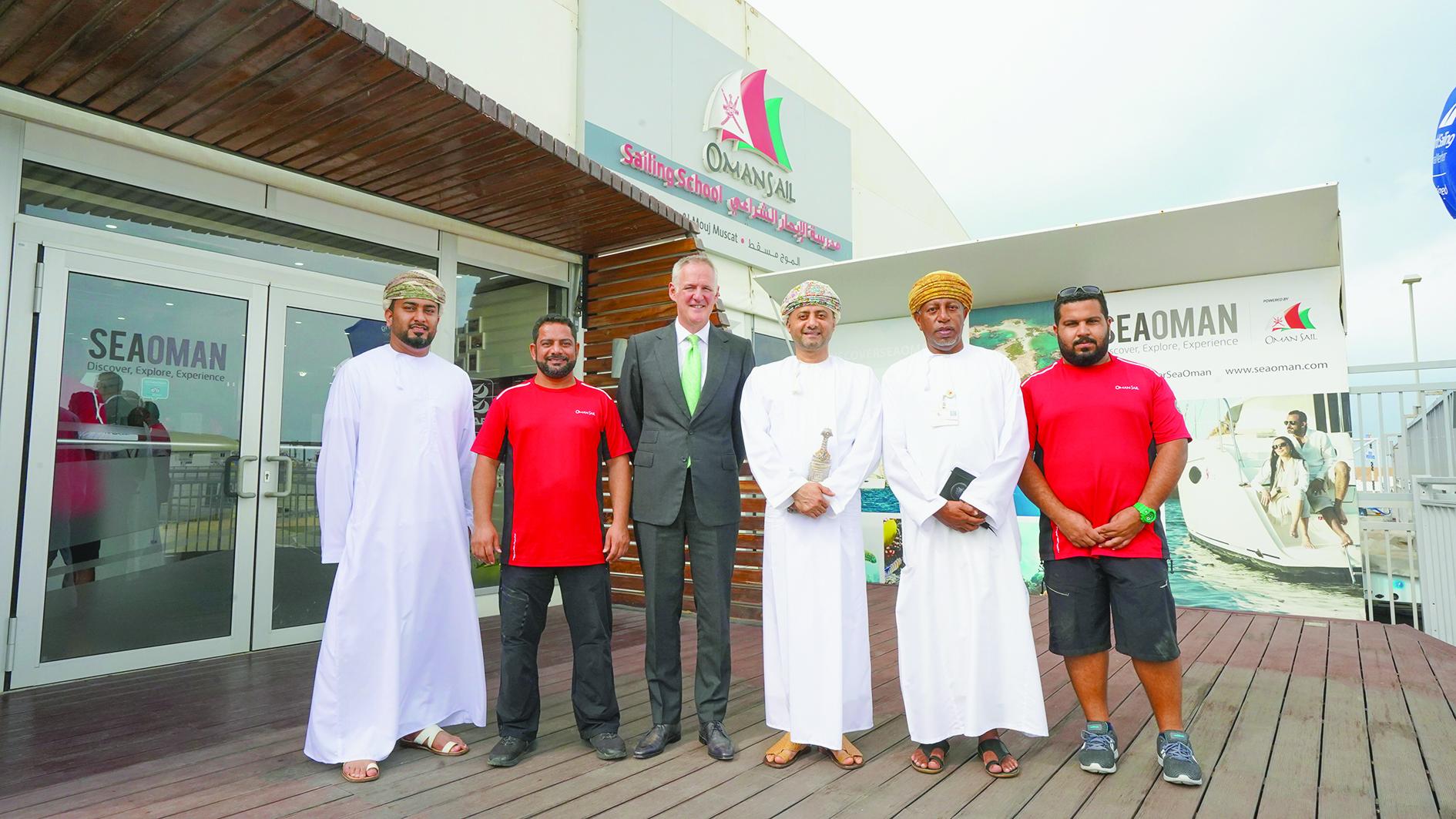 OOC Chairman reviews Oman Sail's future plans