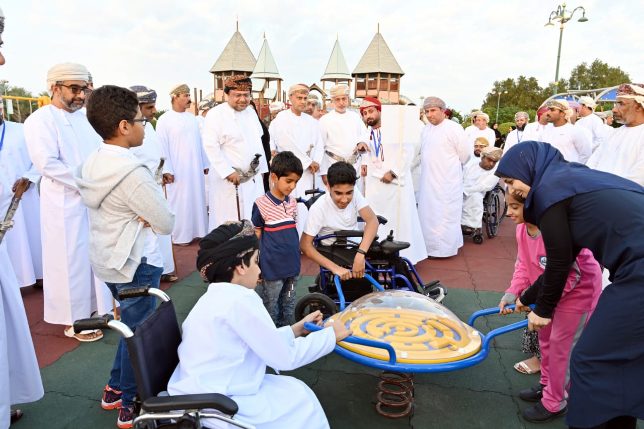In pictures: New playground for disabled children in Oman