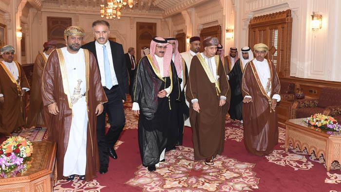Sayyid Fahd receives heads of Arab news agencies