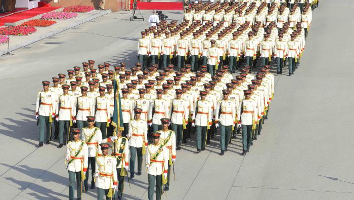 RAO celebrates graduation of cadets