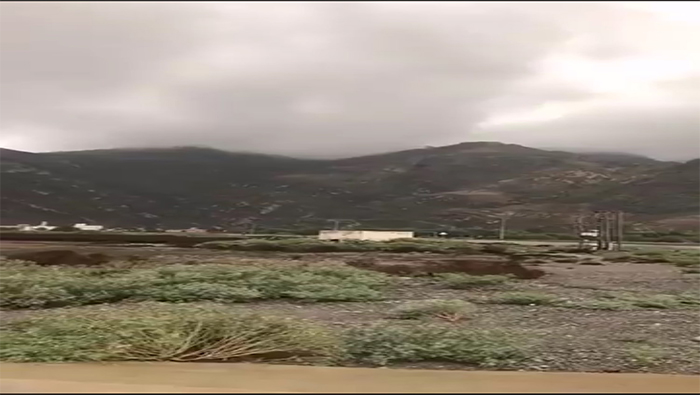 Thunderstorms over parts of Oman