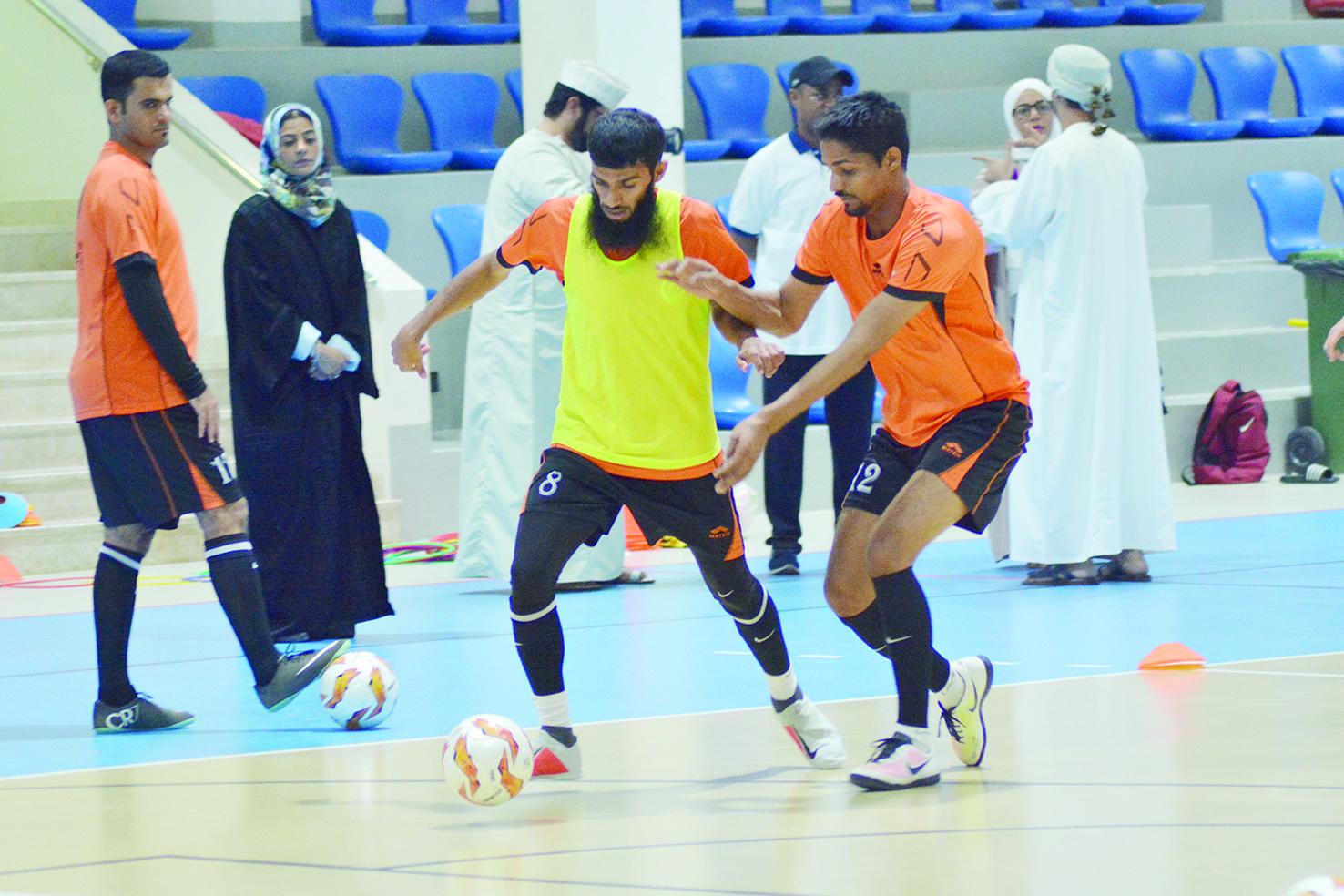 منتخبنا الوطني للصم يواصل تحضيراته للبطولة الخليجية