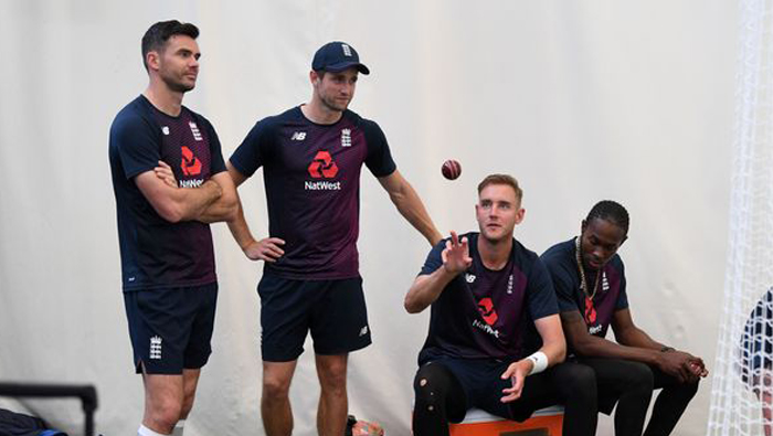 All-seam attack for first Test: England coach