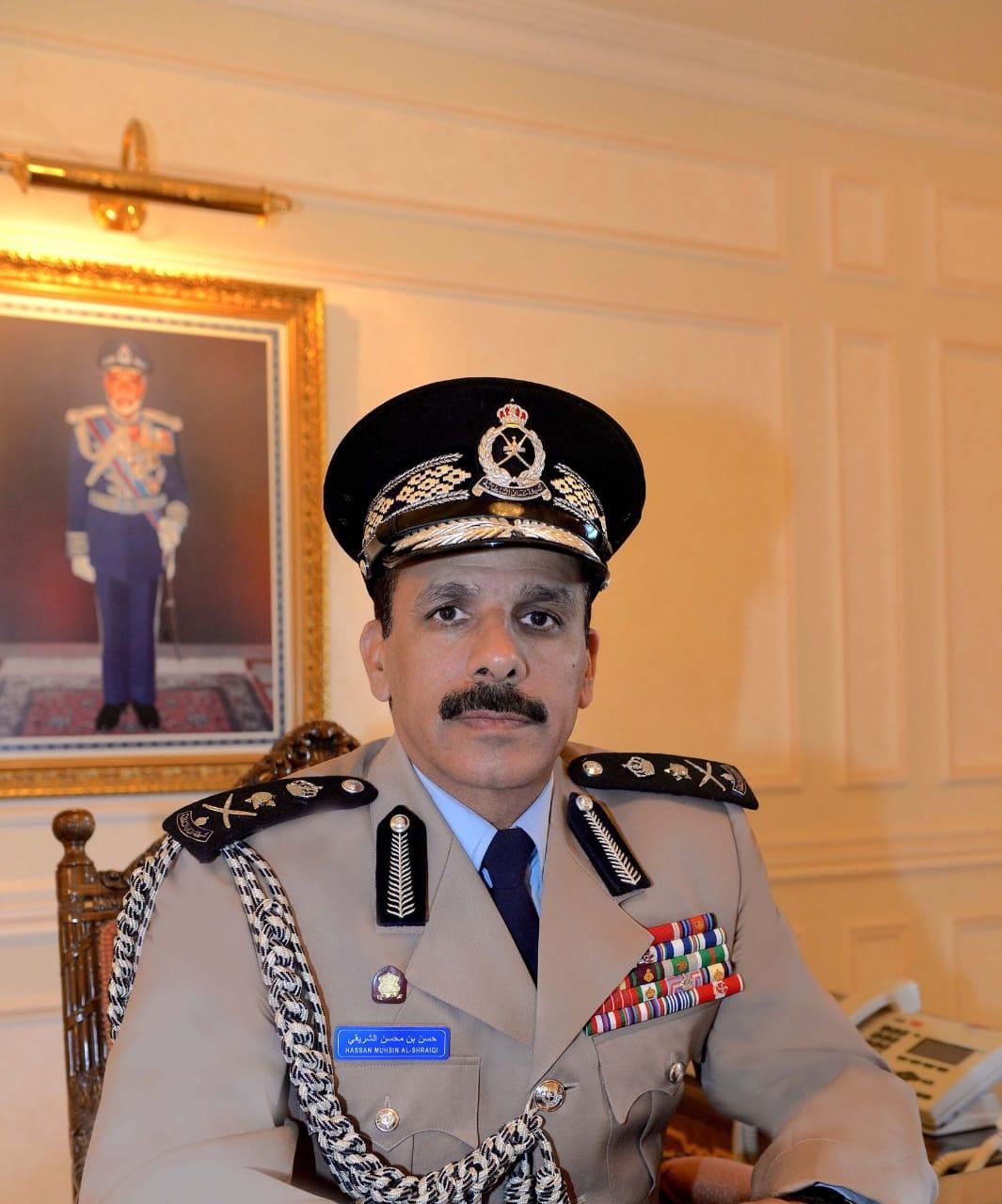 """"""" الشريقي"""" يرعى غدا ختام مهرجان شرطة عمان السلطانية لألعاب القوى"""