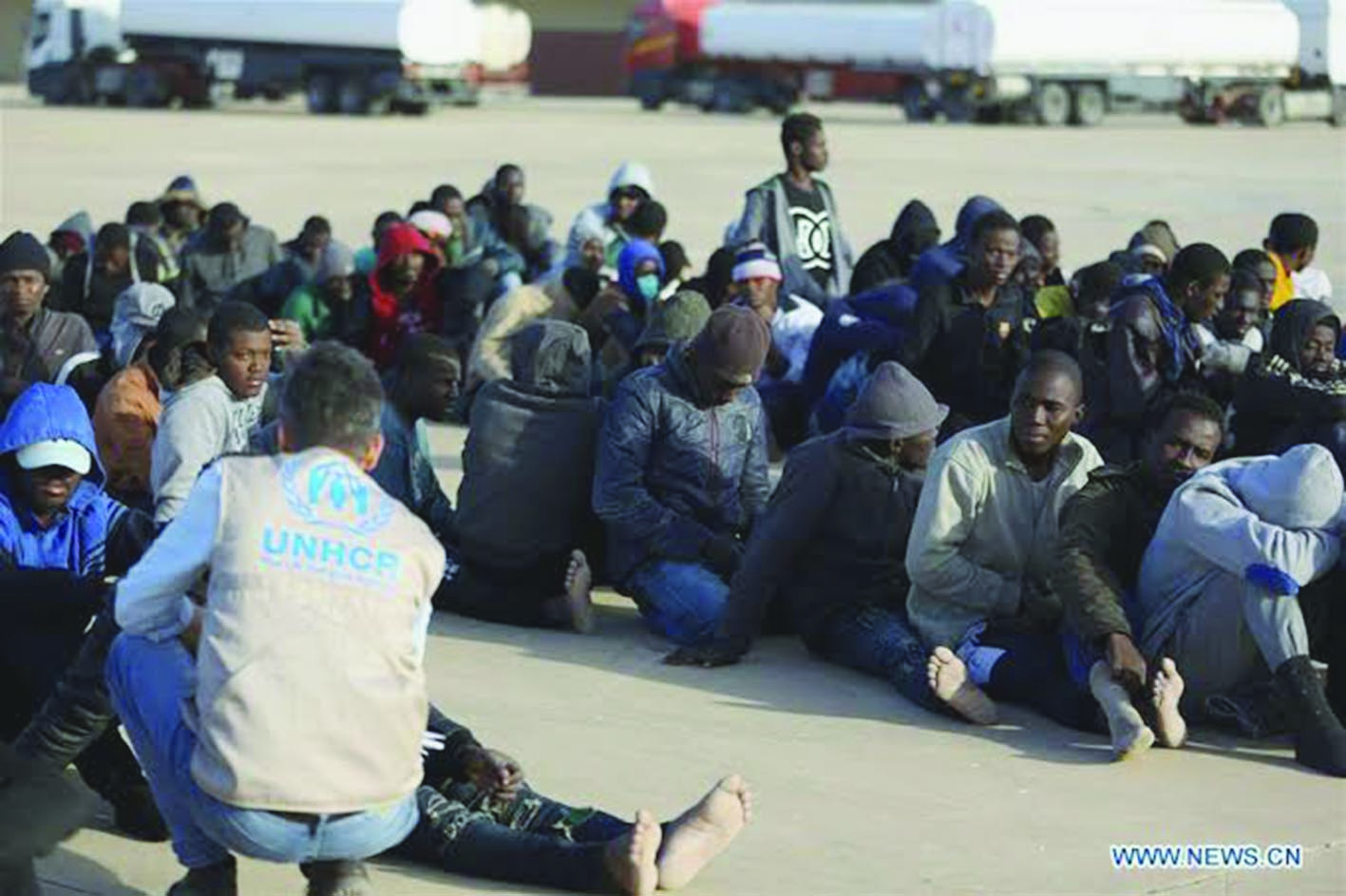 More than 1,000 minor illegal immigrants held in Libyan detention centres